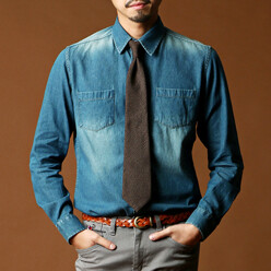 Steve Denim Shirt