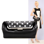 [��Ī10%����][��62]VeloutÉ Bag(Dot)_Black