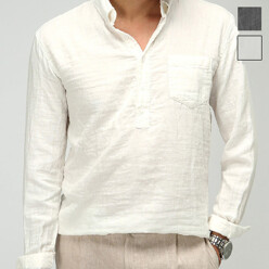 Soft Linen Henly Shirt