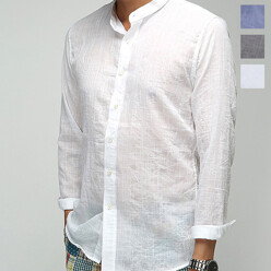 Soft Linen China Shirt