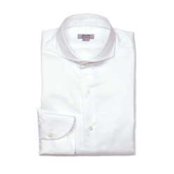 Slim Fit Wide Spread Coll...