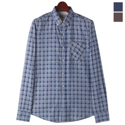 Patch Elbow Check Shirts
