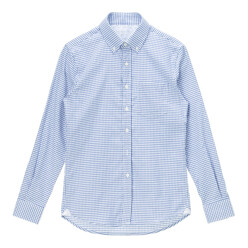 Gingham Check Button Down...