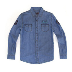 Dc Patch Chambray Blue