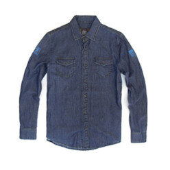 Dc Patch Chambray Navy