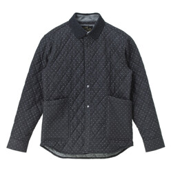 Dot Padding Outer Shirts_...
