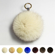 Akro Fox Fur Ring (L)