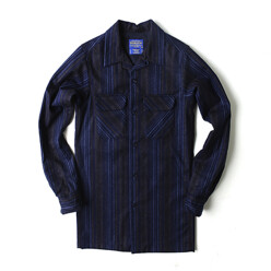 L/S Fitted Board Shirt Bl...
