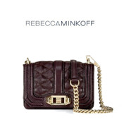 Mini Love Cross Body_Black Cherry