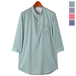 Henley Neck China Shirts
