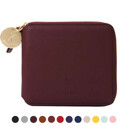 Oz Round Zip Wallet Slim 11colors