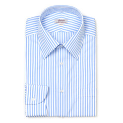 Blue Stripe Regular Colla...