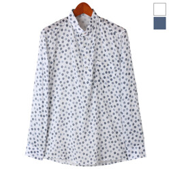 Pattern Dot Cotton Shirts...