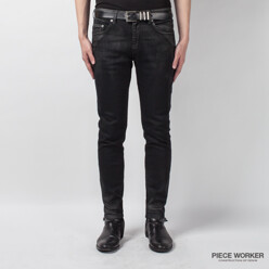 PIECE WORKER DENIM Silver Dust Coated / Crop 할인가 78,000원
