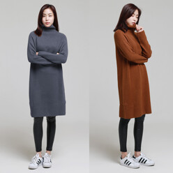 THE GENIE [22%SALE]Soft Turtleneck Knit Ops 할인가 69,000원