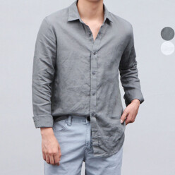 VARONES Linen Collabo Shirts (2color) 할인가 65,000원