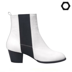 LOW FLOW [팔찌증정]White Chelsea Boots  할인가 203,000원