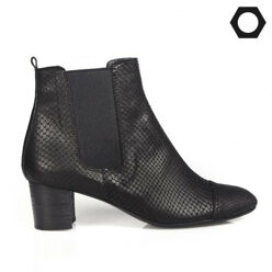 LOW FLOW [팔찌증정]Snake Skin Suede Ankle Boots 할인가 189,000원