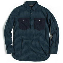 Army Pullover Shirt_Navy ...