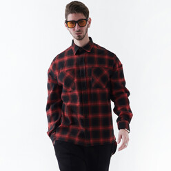 One Pair Check Shirt (Red...