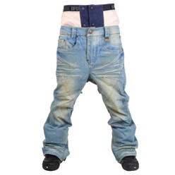 Ifound Rockstar Denim Pant_Light Blue_Regular 남여