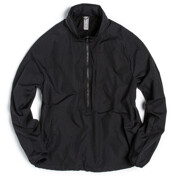 Stand Collar Anorak_Black Nylon