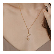 [런칭10%세일]Dainty Linear Face Necklace