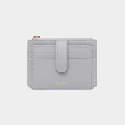 Dijon 301s Flap Mini Card Wallet Light Grey