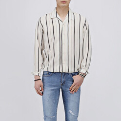 Multi Stripe Open Shirts
