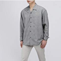 Glen Open Collar Shirts