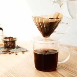 Glass Coffee Dripper And ...