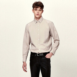 Viscose Basic Shirts (Beige)