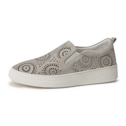 [Suecommabonnie] Jewelry Punching Slip-On(Grey)_Dg