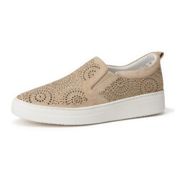 [Suecommabonnie] Jewelry Punching Slip-On(Beige)_D