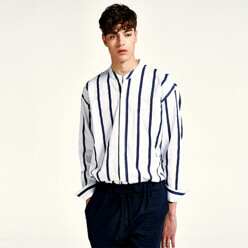 Count Stripe Shirts (White)