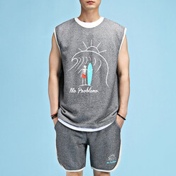 Franci Wave Sleeveless Tee