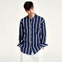 Count Stripe Shirts (Navy)