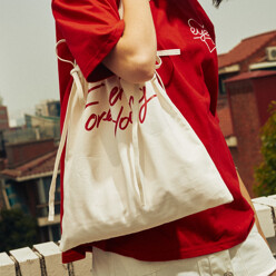 Forever Young String Eco Bag_Ivory (Eeoe2acy08w)
