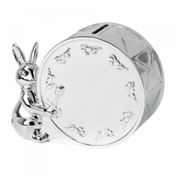 로얄덜튼 Bunnykins Silver Money Box
