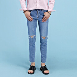 Summer Vintage Cutting Jeans