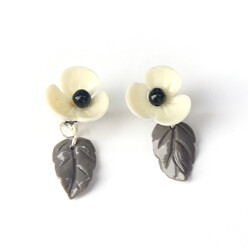 Flower Leaf Earring