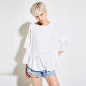 [30%SALE]Cross Point T-Shirts_Ivory