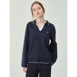 [Materials] Wide Sleeve Collar Knit