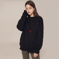 U Pocket Sweatshirts_Lt167