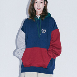 Nmps Embroider Hood(Navy)
