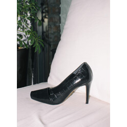 Urban Python Open-Toe Black