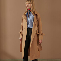 Magan_Strap Detail Over Trench Coat