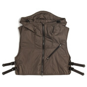 Utility Layered Vest_Olive Brown
