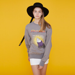 Rumspringa Tour Sweatshirt Gray