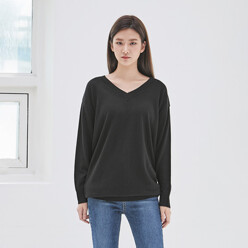 Casual V-Neck Knit (T-3828)